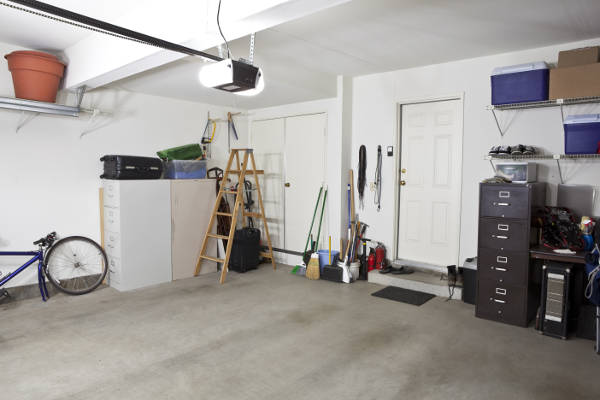 a well organized garage