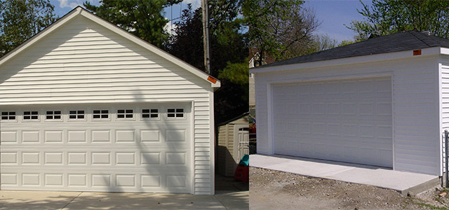 hip vs gable roof garages